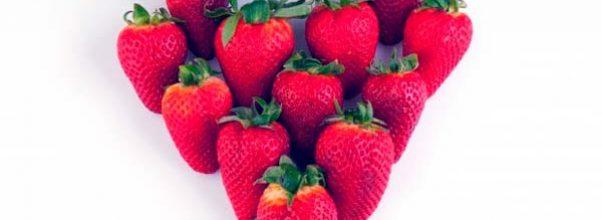Las fresas en la alimentación