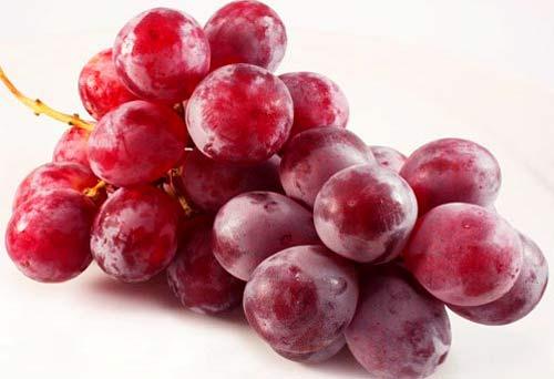 uvas rojas para el corazón