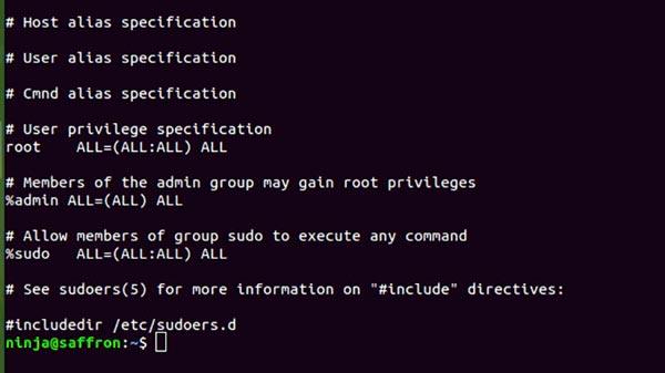 inseguridad sudo linux