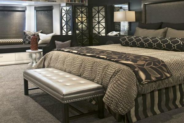 Diversos estilos de banquetas para dormitorios