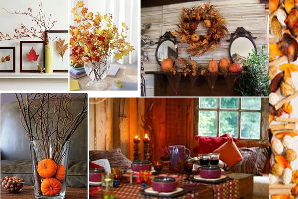 Ideas para decorar tu casa en otoño
