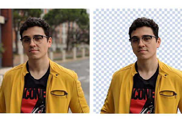 Aplicación para eliminar el fondo de una foto